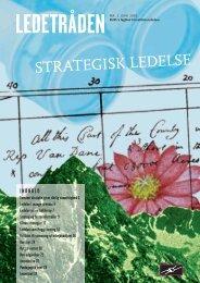 STRATEGISK LEDELSE - Bupl