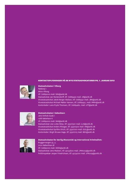 Se fakta om statsadvokatreformen - Rigsadvokaten