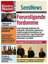 LÆRERE UDEN GRÆNSER - Professionshøjskolen Metropol