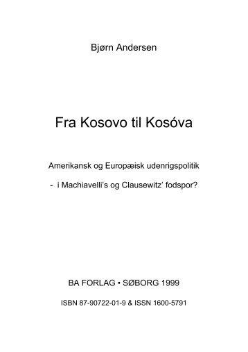 Fra Kosovo til Kosova - BA Forlag