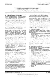 Behandlingsforsikring ved arbejdsulykke - Codan Forsikring A/S