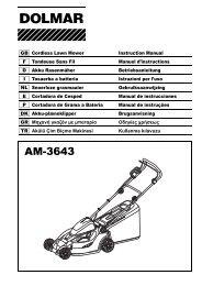 Pieza de repuesto original dolmar motosierra 2145 a tanque para kettenöl