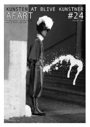 kunstens kulturelle vækstpotentiale - Institut for Kunst- og ...