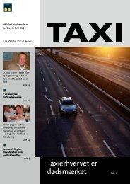 Taxierhvervet er dødsmærket Side 6 - Dansk Taxi Råd