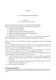 Høringsudgave miljøoplysningslov - Miljøstyrelsen