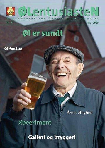Øl er sundt Øl er sundt - Danske Ølentusiaster