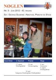 2012 - Sct. Georgs Gilderne i Næstved