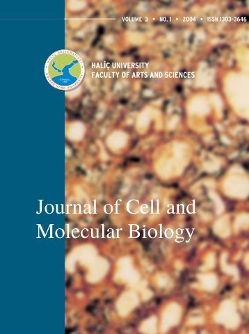 Full Journal - Journal of Cell and Molecular Biology - Haliç Üniversitesi