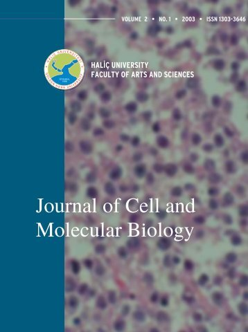 (Converted)-4 - Journal of Cell and Molecular Biology - Haliç ...