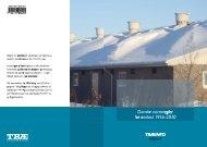 Danske normregler for sne - Træinformation