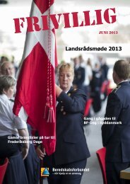 FRIVILLIG Juni 2013 - Beredskabsforbundet