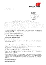 Første indkaldelse til repræsentantskabsmøde den 2. juni 2012
