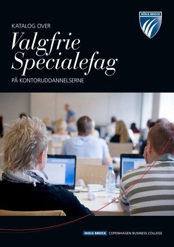 Valgfrie Specialefag - Niels Brock