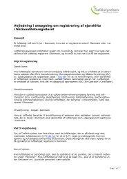 Vejledning i ansøgning om registrering af ejerskifte i ... - Trafikstyrelsen