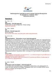 18.04.2012 1/2 Skolebestyrelsen indkaldes herved ... - Skovbyskolen