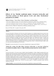 Effects of two Turkish medicinal plants Artemisia herba-alba a n d ...