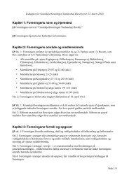 Vedtægter for grundejerforeningen (PDF)