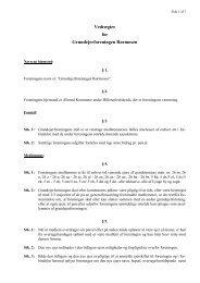 Foreningens vedtægter - Grundejerforeningen Rørmosen, Allerød