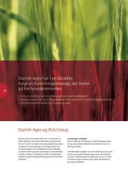 Danish Agro og DLA Group