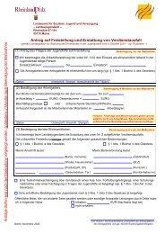 Antrag auf Freistellung und Erstattung von Verdienstausfall
