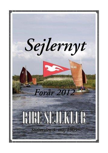 Sejlernyt forår 2012 - Ribe Sejlklub