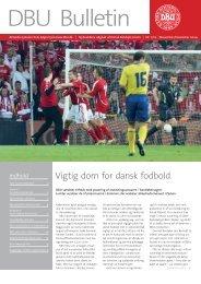 Vigtig dom for dansk fodbold - DBU