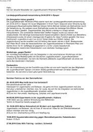 Newsletter JF-RP Mai 2010 - Jugendfeuerwehr Rheinland-Pfalz