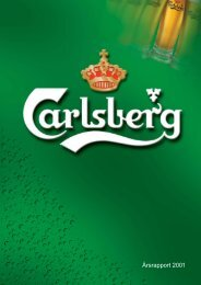Årsrapport 2001 - Carlsberg Group