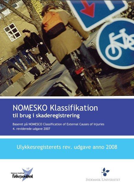 NOMESKO Klassifikation - Statens Institut for Folkesundhed