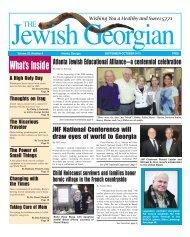 What's Inside - The Jewish Georgian