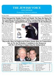 October 2006 - Jewish Voice and Opinion