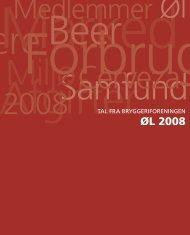 Tal fra bryggeriforeningen: Øl 2008 - Opgaver