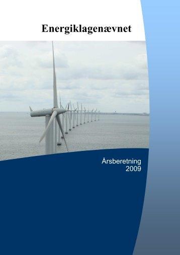 Årsberetning 2009 - Energiklagenævnet