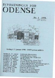 januar 1998 - Byforeningen for Odense
