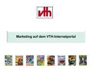Marketing auf dem Vth-Internetportal