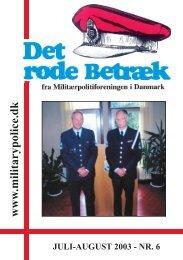 w w w .m ilitarypolice.dk - Militærpolitiforeningen
