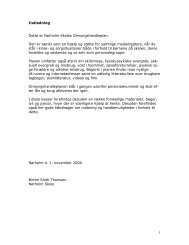 Omsorgshandleplan - Nørholm Skole