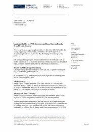 Landzonetilladelse og VVM-afgørelse - Struer kommune