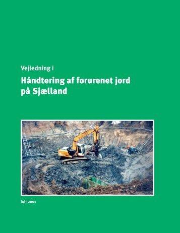 Håndtering af forurenet jord på Sjælland - Hvidovre Kommune