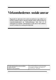 Virksomhedernes sociale ansvar