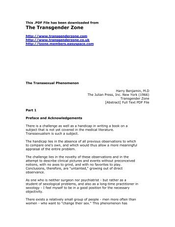 transsexual support organizations