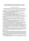 Hasardspillet med Danmarks natur - Dansk Ornitologisk Forening - Page 7