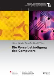 Die Verselbständigung des Computers