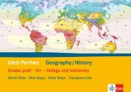 Klett-Perthes Geography / History