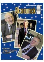 ¿ko forum nr 9-01 - Samfunnsøkonomene