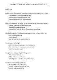 Pädagogische Arbeitsblätter zu Band 219: Gertraut Seib, Wer war`s?