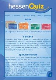 rn Inhalt Spielidee Spielvorbereitung 6 1 - AMIGO Spiel + Freizeit ...