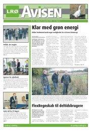 Klar med grøn energi - LRØ
