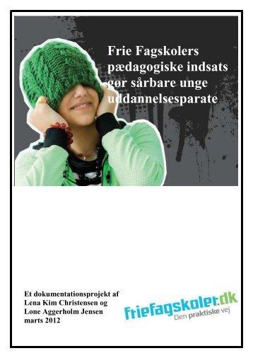 Uddannelsesparathed - Frie fagskoler