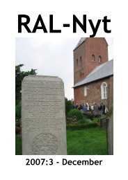 RAL-Nyt 2007:3 - December - Ribe Amts Lokalarkiver